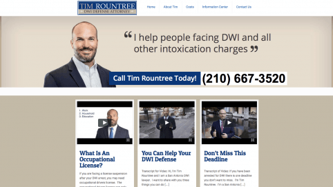 San Antonio DWI Defense Lawyer